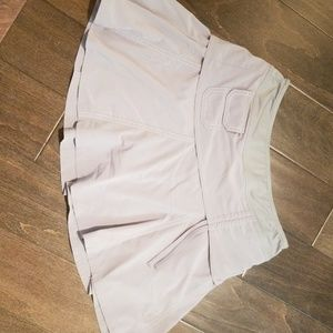 Athleta gray skirt size 2P